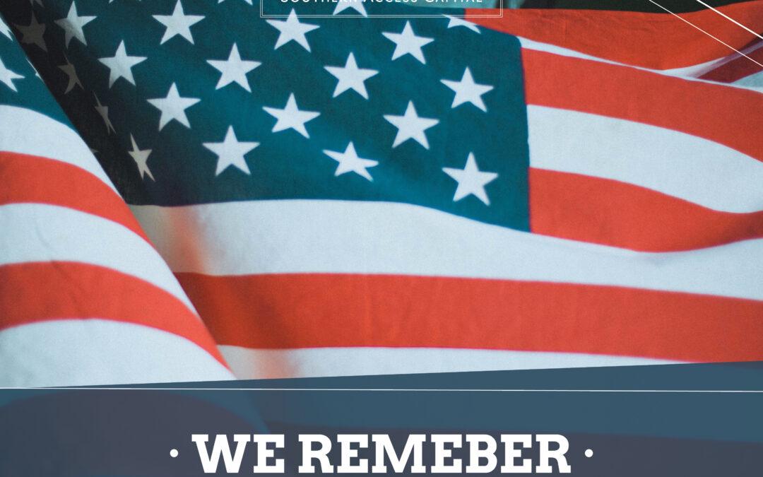 Memorial Day May 31st