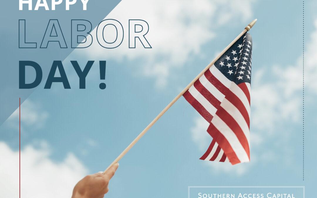 Labor Day – September 6th